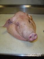 Министр информации получил посылку с головой свиньи