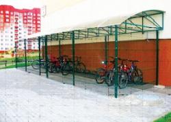 Велопарковка для Зеленого Бора