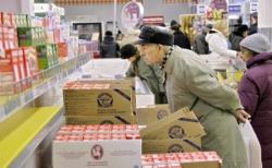 Рост цен на продукты питания в 2009 году в Беларуси составил 14%