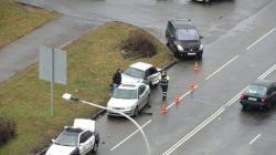 Пьяный минчанин повредил три припаркованные машины
