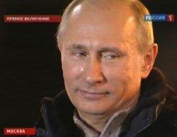 Путин поплакал на виду у всего народа