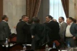 Драка в парламенте Молдовы