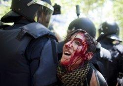 Демонстрация Мадридских шахтеров