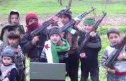 Мятежники из Сирии вербуют для участия в военных действиях детей