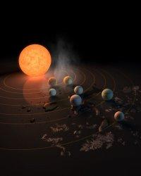 Астрономами НАСА открыта планетная система с сразу тремя потенциально пригодными для жизни планетами