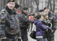 Белорусская милиция готовится к весенним акциям протеста оппозиции